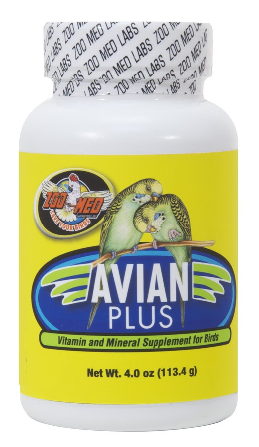Avian Plus Vitamin & Mineral Supp. 4 oz-ZooMed