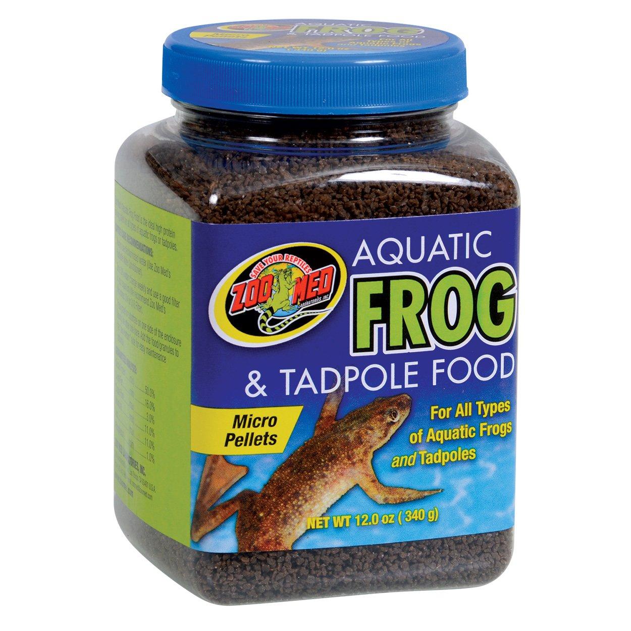 Aquatic Frog and Tadpole Food 12oz -ZooMed