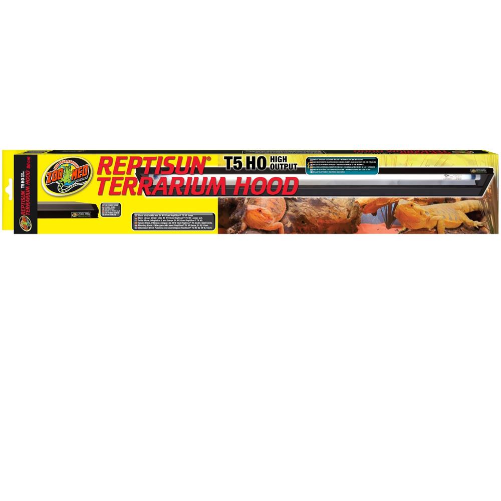 "ReptiSun T-5 HO Terrarium Hood 30"" -ZooMed"