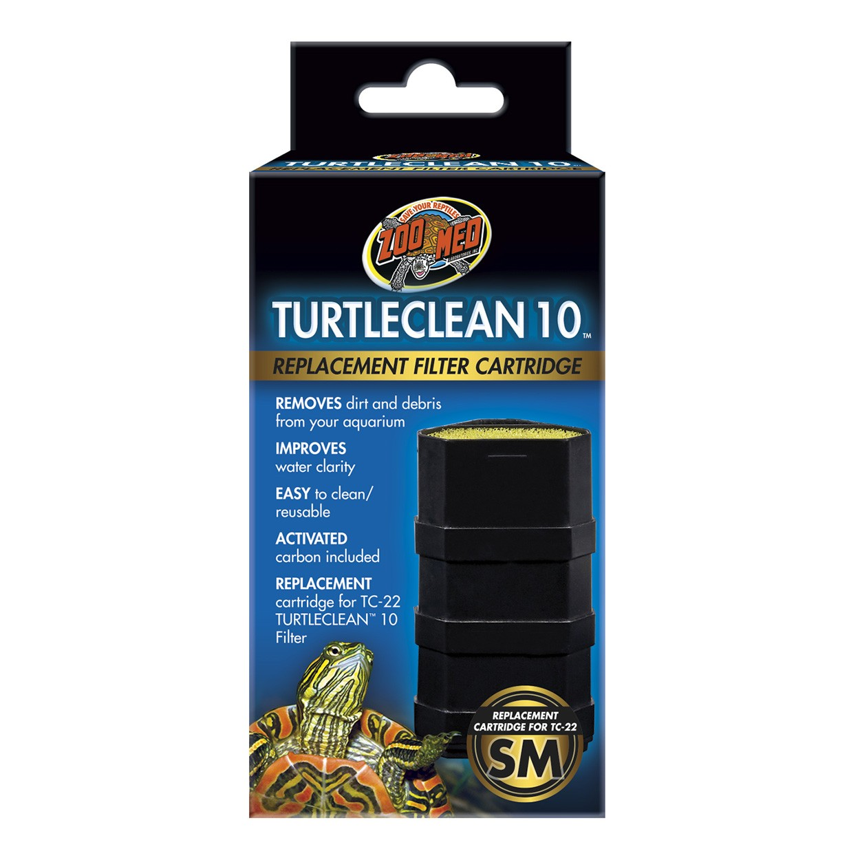 TURTLE CLEAN 10 REPLACE CARTRIDGE-ZOOMED