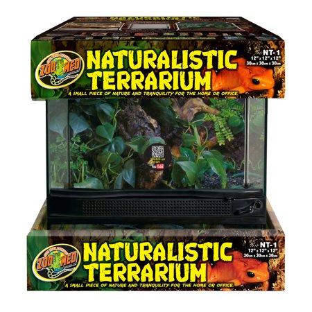 Naturalistic Terrarium 12x12x12 -ZooMed