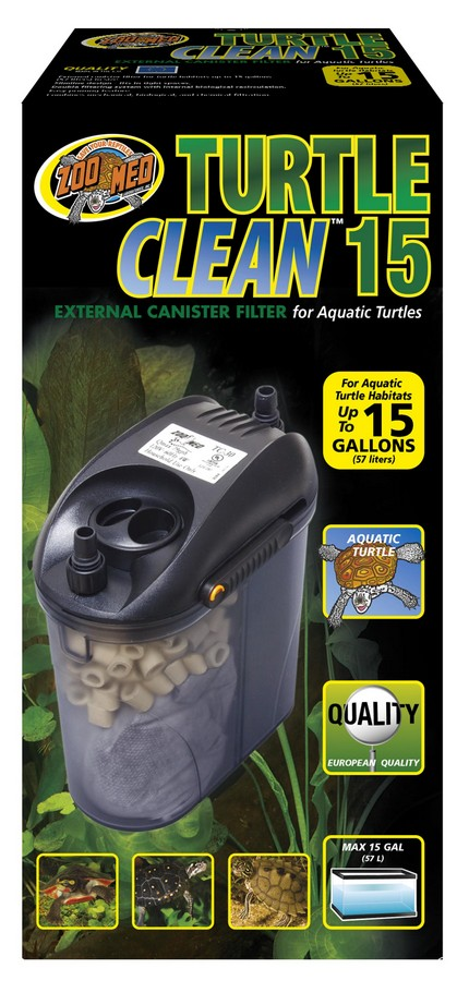 TURTLE CANISTER FILTER 15GAL-ZOOMED