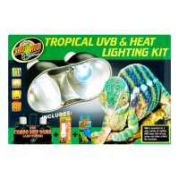 Tropical UVB lamp; Heat Light Kit-ZooMed