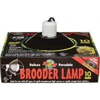 "Dlx Porcelain Brooder Lamp 10"" -ZooMed"