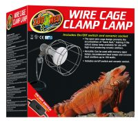 Wire Cage Clamp Lamp-ZooMed