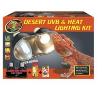 Desert UVB lamp; Heat Light Kit-ZooMed