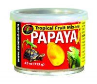 Tropical Mix-Ins \ Papaya 4oz -ZooMed