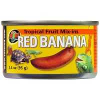 Tropical Mix-Ins \ Red Banana 4oz -ZooMed