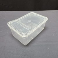 HINGED LID REPTILE STACKABLE BOX SM